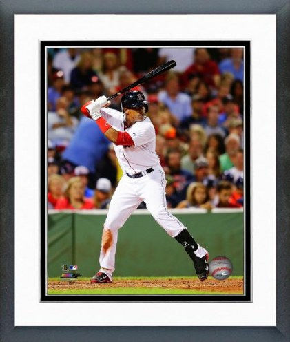 Boston Red Sox Yoenis Cespdes Action Framed Photo