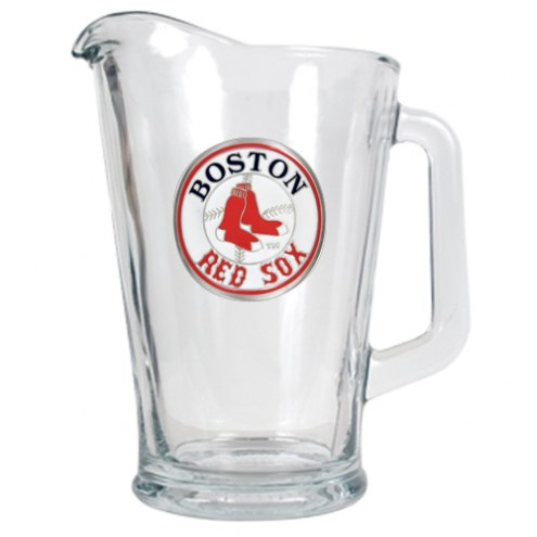Boston Redsox MLB 60 Oz. Glass Pitcher