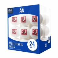 Boston Terriers 24 Count Ping Pong Balls
