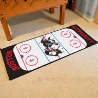 Boston Terriers Hockey Rink Runner Mat