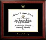 Boston Terriers Gold Embossed Diploma Frame