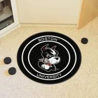 Boston Terriers Hockey Puck Mat