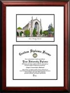 Boston Terriers Scholar Diploma Frame