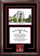 Boston Terriers Spirit Graduate Diploma Frame