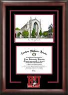 Boston Terriers Spirit Graduate Diploma Frame