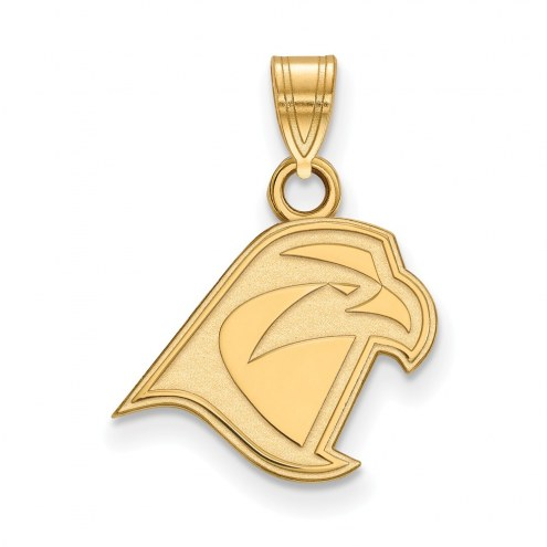 Bowling Green State Falcons College Sterling Silver Gold Plated Small Pendant