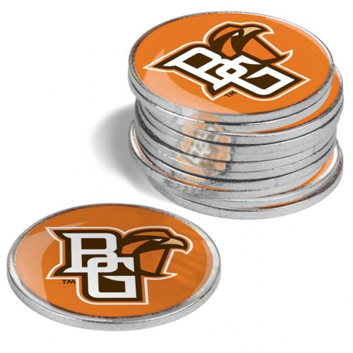 Bowling Green State Falcons 12-Pack Golf Ball Markers