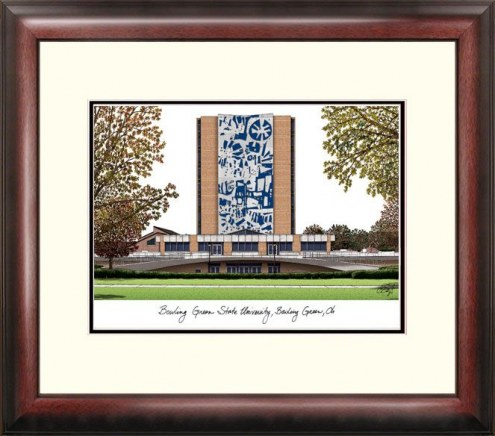 Bowling Green State Falcons Alumnus Framed Lithograph