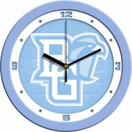 Bowling Green State Falcons Baby Blue Wall Clock