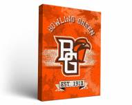 Bowling Green State Falcons Banner Canvas Wall Art