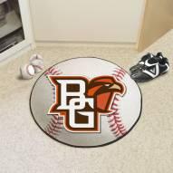 "Bowling Green State Falcons ""BG"" Baseball Rug"