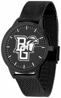 Bowling Green State Falcons Black Dial Mesh Statement Watch