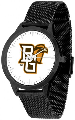 Bowling Green State Falcons Black Mesh Statement Watch