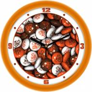Bowling Green State Falcons Candy Wall Clock
