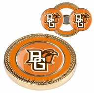 Bowling Green State Falcons Challenge Coin with 2 Ball Markers