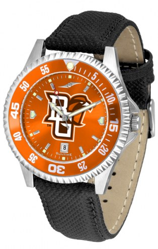 Bowling Green State Falcons Competitor AnoChrome Men's Watch - Color Bezel