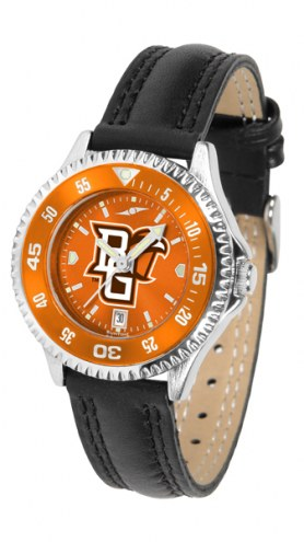 Bowling Green State Falcons Competitor AnoChrome Women's Watch - Color Bezel