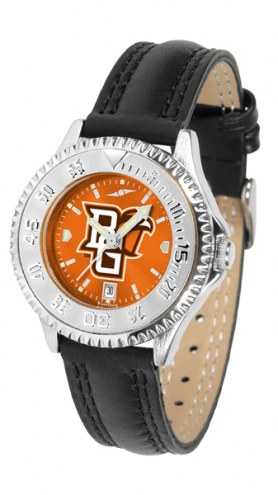 Bowling Green State Falcons Competitor AnoChrome Women's Watch