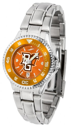 Bowling Green State Falcons Competitor Steel AnoChrome Women's Watch - Color Bezel