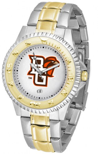 Bowling Green State Falcons Competitor Two-Tone Men's Watch