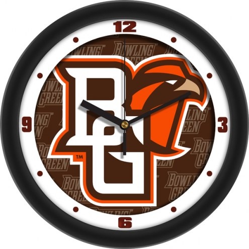 Bowling Green State Falcons Dimension Wall Clock