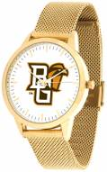 Bowling Green State Falcons Gold Mesh Statement Watch