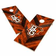Bowling Green State Falcons Herringbone Cornhole Game Set