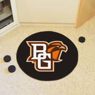 Bowling Green State Falcons Hockey Puck Mat