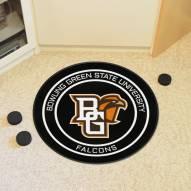 Bowling Green State Falcons Hockey Puck Mat
