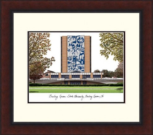 Bowling Green State Falcons Legacy Alumnus Framed Lithograph