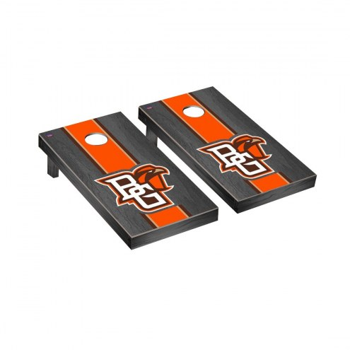 Bowling Green State Falcons Onyx Stained Cornhole Game Set