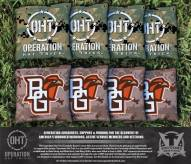 Bowling Green State Falcons Operation Hat Trick Cornhole Bag Set