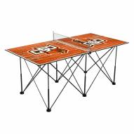 Bowling Green State Falcons Pop Up 6' Ping Pong Table