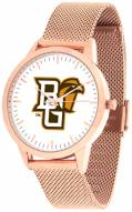 Bowling Green State Falcons Rose Mesh Statement Watch