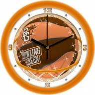 Bowling Green State Falcons Slam Dunk Wall Clock