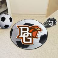 "Bowling Green State Falcons ""BG"" Soccer Ball Mat"