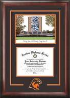 Bowling Green State Falcons Spirit Diploma Frame with Campus Image