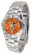 Bowling Green State Falcons Sport Steel AnoChrome Women's Watch