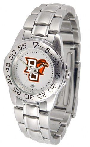 Bowling Green State Falcons Sport Steel Women's Watch