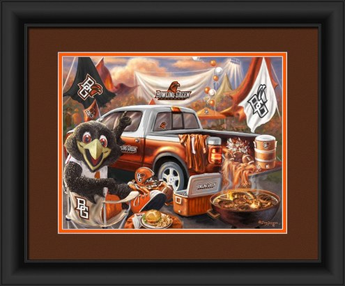 Bowling Green State Falcons Tailgate Framed Print