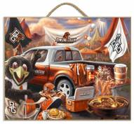 Bowling Green State Falcons Tailgate Plaque