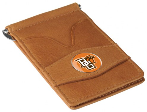 Bowling Green State Falcons Tan Player's Wallet
