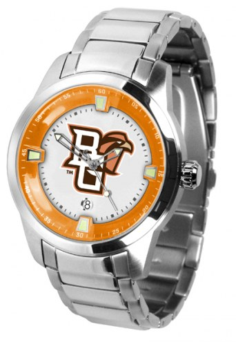 Bowling Green State Falcons Titan Steel Men's Watch
