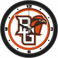 Bowling Green State Falcons Traditional Wall Clock