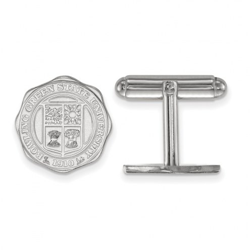 Bowling Green State Falcons NCAA Sterling Silver Cuff Links