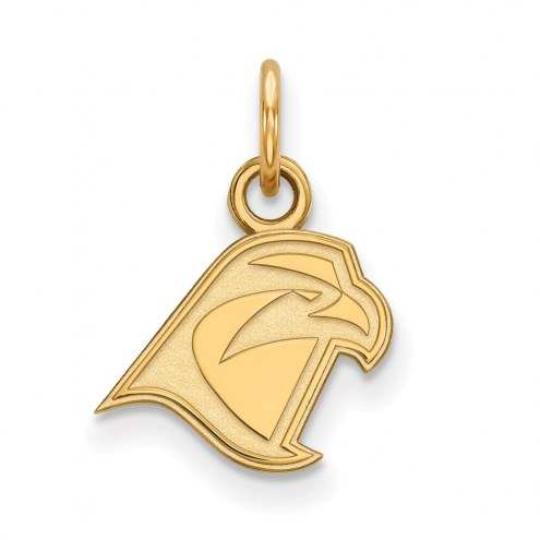 Bowling Green State Falcons Sterling Silver Gold Plated Extra Small Pendant