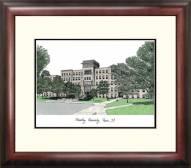 Bradley Braves Alumnus Framed Lithograph
