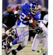 Brandon Jacobs Signed Run vs. Panthers 8 x 10 Photo