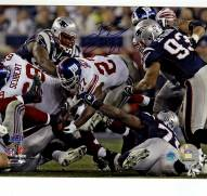 Brandon Jacobs Super Bowl XLII 4th Down Run 8 x 10 Photo