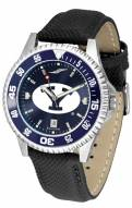 BYU Cougars Competitor AnoChrome Men's Watch - Color Bezel